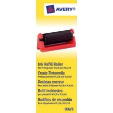 Avery IRAV5 Bläckrulle Svart 5 st. till PL1 / PL2 och 18/08