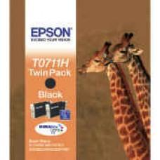 Epson C13T07114H30 bläckpatron svart 2stk.