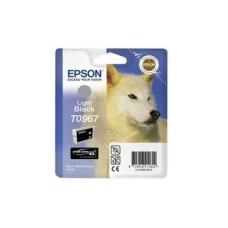 Epson C13T09674010 bläckpatron ljus svart T967