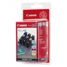 Canon 4541B009 Bläckpatronspaket cyan, magenta, gul CLI-526