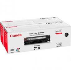 Canon 2662B005 tonerkassett svart CRG 718BK