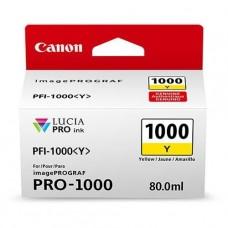 Canon 0549C001 bläckpatron gul PFI-1000Y