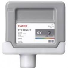 Canon 2217B001AA bläckpatron Grå PFI-302GY