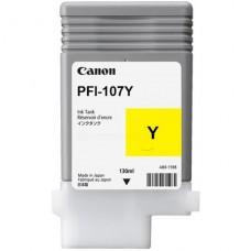 Canon 6708B001AA bläckpatron gul PFI-107Y