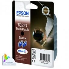 Epson C13T03214210 bläckpatron svart