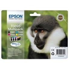 Epson C13T08954010 bläckpatron svart, cyan, magenta, gul