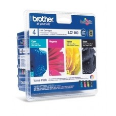 Brother LC1100VALBPDR Bläckpatronspaket