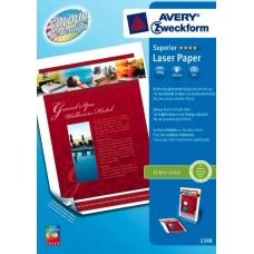 Avery 1398-200 Fotopapper Glättat för laserskrivare, 200 gsm A4 200ark