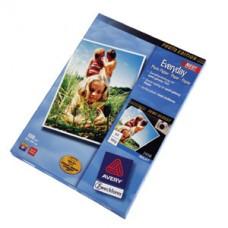 Avery 2496-50 fotopapper för bläckstråleskrivare glättat 180g A4 50ark