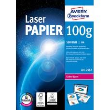Avery 2562 Standard papper färglaser/laser skrivare 100g A4 500ark