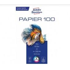 Avery 2566-250 Laser/inkjet/copy Bright white paper, 100g A4