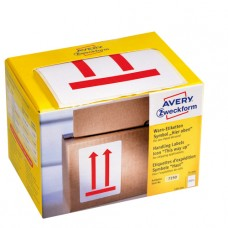 Avery 7250 Denna sida upp etiketter, 74x100mm 200stk