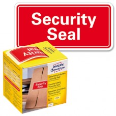 Avery 7310 security seal 78x38mm 100stk