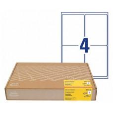 Avery 8017-300 fraktetiketter, 99.1 x 139mm ekonomi paket 300ark