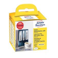 Avery Pärmetiketter på rulle 190x38mm, AS0722470, 110st