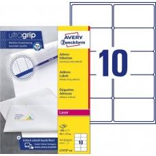 Avery L7173-100 QuickPEEL adressetiketter C4-kuvert 99.1x57mm 100ark