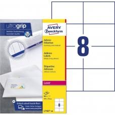 Avery L7183-100 Adressetiketter för brev och paket 105x74mm 100ark