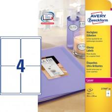 Avery L7769-40, Blanka etiketter, 139 x 99,1 mm, 160 stk etiketter