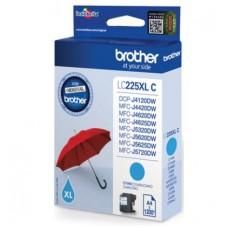 Brother LC225XLC bläckpatron cyan