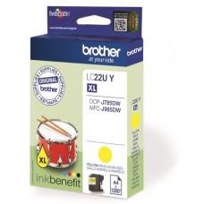 Brother LC22UY bläckpatron gul