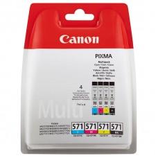 Canon 0386C005 Bläckpatronspaket CLI-571CMYBK