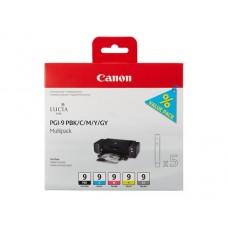 Canon 1034B013 Bläckpatronspaket PGI-9 PBK/C/M/Y/GY