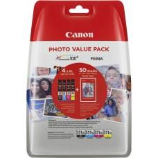 Canon 6443B006 Bläckpatronspaket foto CLI-551XL