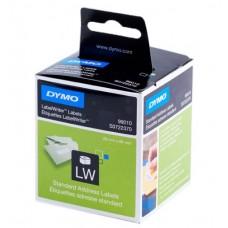 DYMO 99010 x 12 stk. adr. etiket 28x89 mm, 2 ruller x 130 labels