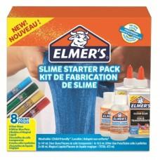 Elmers slime starter kit med 8 delar