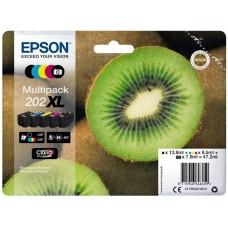 Epson C13T02G74010 bläckpatron 5 färgernr 202XL Kiwi