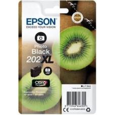 Epson C13T02H14010 bläckpatron fotosvart nr 202XL Kiwi