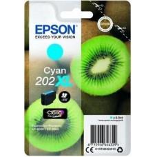 Epson C13T02H24010 bläckpatron cyan nr 202XL Kiwi