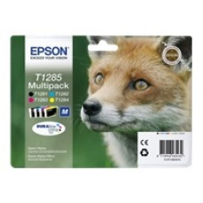 Epson C13T12854010 Bläckpatronspaket svart, cyan, magenta, gul