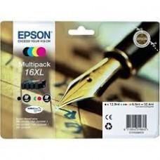 Epson C13T16364010 bläckpatroner svart, cyan, magenta, gul