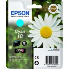 Epson C13T18024010 bläckpatron cyan nr 18