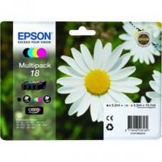 Epson C13T18064010 Bläckpatronspaket BK/C/M/Y nr 18