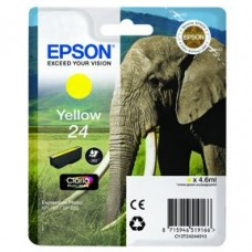 Epson C13T24244010 bläckpatron gul nr 24