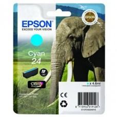 Epson C13T24324010 bläckpatron cyan nr 24XL