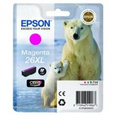 Epson C13T26334010 bläckpatron magenta nr 26XL