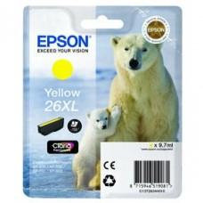 Epson C13T26344010 bläckpatron gul nr 26XL