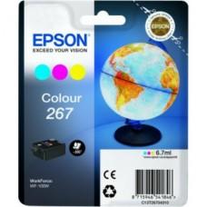 Epson C13T26704010 bläckpatron färg C/M/Y nr 267
