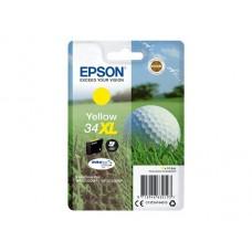 Epson C13T34744010 bläckpatron gul nr 34XL