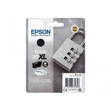 Epson C13T35914010 bläckpatron svart nr 35XL BK