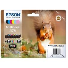 Epson C13T37884010 bläckpatron 6 färger