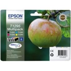 Epson C13T12954010 Bläckpatronspaket svart, cyan, magenta, gul