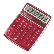 CITIZEN Räknare CCC 112 Röd , 104061