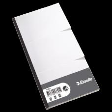 ESSELTE Block-flik 3delat 2603/75 120x245 100-pack, 13691