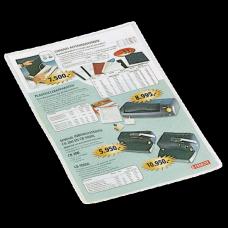 ESSELTE Plastfodral PP A4 glasklar 100st , 47774