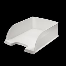 LEITZ Brevkorg Plus Jumbo vit , 52330001, 4-pack
