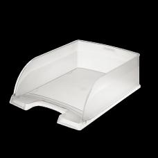 LEITZ Brevkorg Plus Jumbo transparent , 52330003, 4-pack